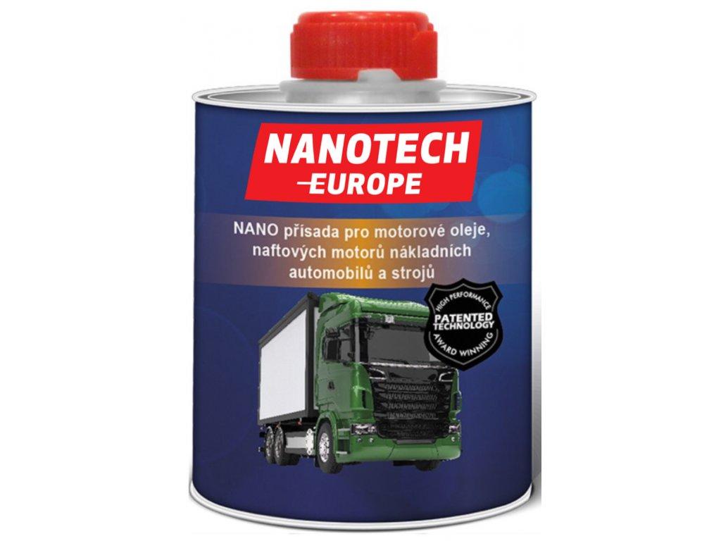 NANO-prísada pro motorového oleja, naftových motorov nákladných automobilov / NANOTECH-EUROPE