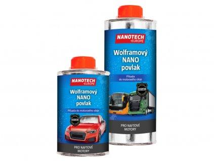 NANO-prísada do motorového oleja pre NAFTOVÉ motory / NANOTECH-EUROPE